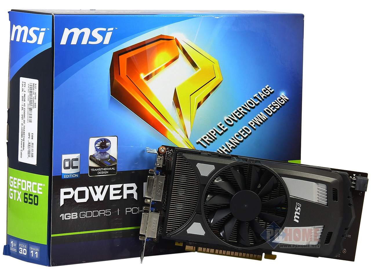 MSI GeForce GTX 650 OC
