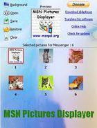 MSN Pictures Displayer : afficher un diaporama dans votre MSN messenger