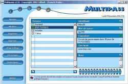 Multipass screen 2