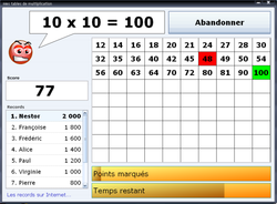Multiplication! screen1
