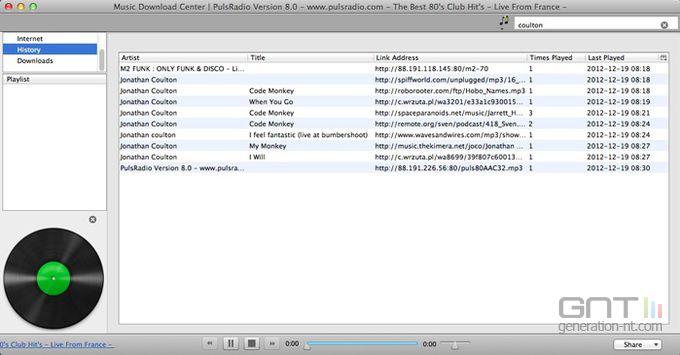 Music Download Center screen2