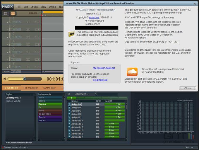 Music Maker Hip Hop Edition 4 screen 2