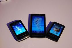 MWC Sony Ericsson X10 gamme 03