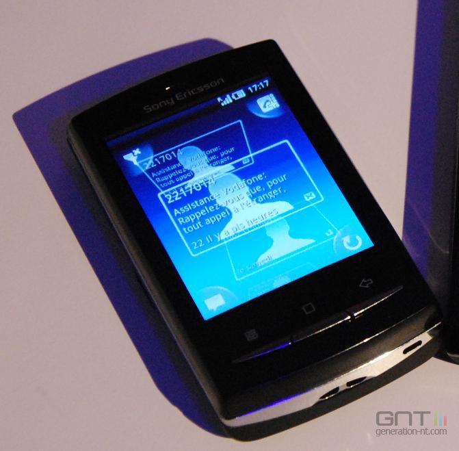 MWC Sony Ericsson X10 Mini