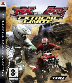 MX vs. ATV Extreme Limite jaquette PS3