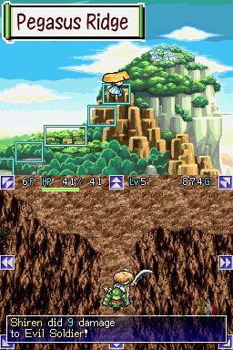 Mystery Dungeon : Shiren the Wanderer - 10