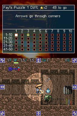 Mystery Dungeon : Shiren the Wanderer - 4