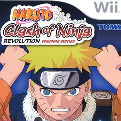 Naruto : Clash of Ninja Revolution - pochette