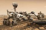 NASA Mars 2020 rover vignette