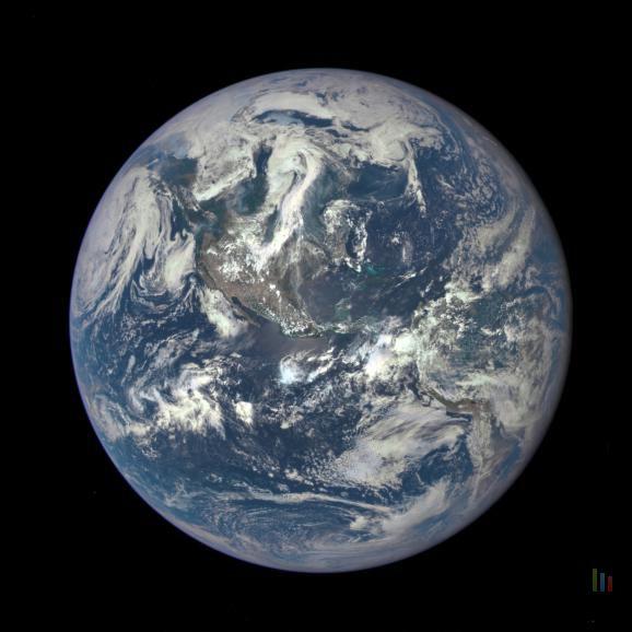 NASA photo Terre