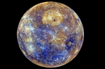 NASA surface de mercure