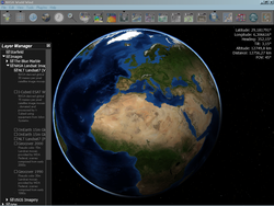 NASA World Wind Java SDK screen1