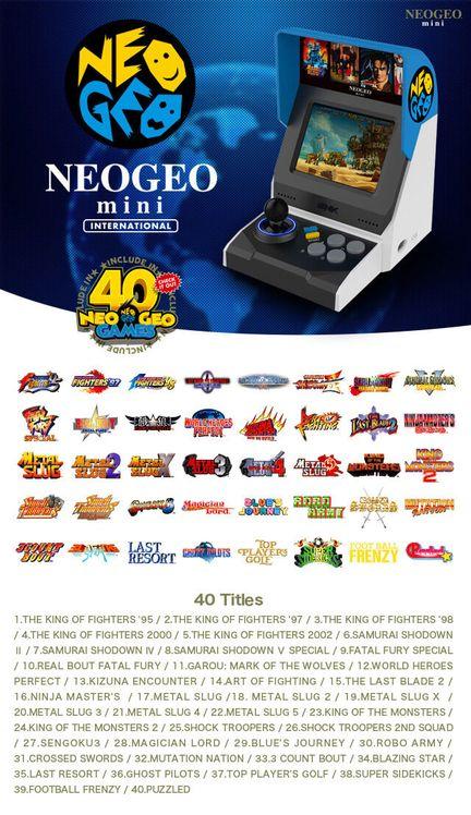 Neo Geo Mini internationale
