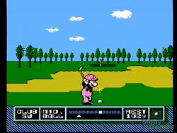 Nes tournament golf image 1