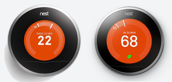 le thermostat connect nest d sormais compatible avec le chauffage lectrique. Black Bedroom Furniture Sets. Home Design Ideas