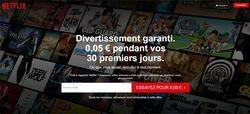 Netflix 0,05 euros