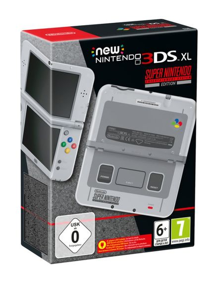 New 3DS XL SUPER NES 1