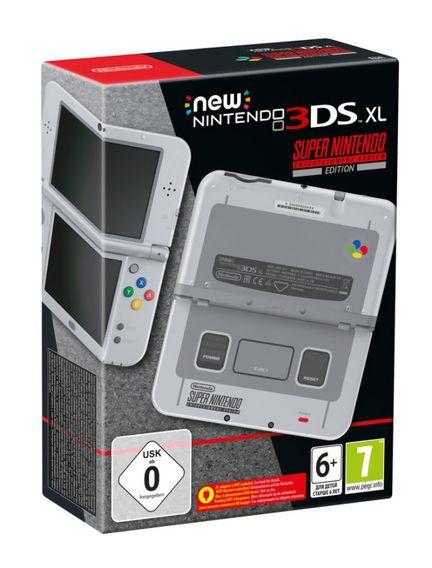 New 3DS XL SUPER NES 1