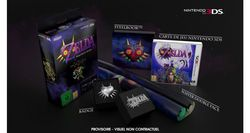 New 3DS XL Zelda Majora Mask - collector