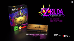New 3DS XL Zelda Majora Mask - pack