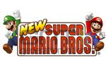 New super mario bros logo