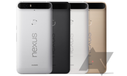 Nexus 6P coloris