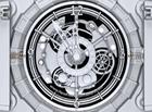 nfsMechClock : une montre à ressort comme écran de veille