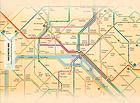 nfsParisMetroMap : garder le plan du métro sur votre écran de veille