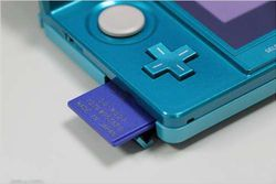 Nintendo 3DS - carte SD