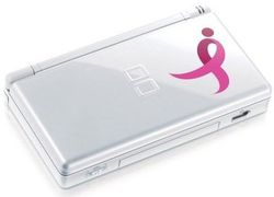 nintendo ds limited edition pink ribbon