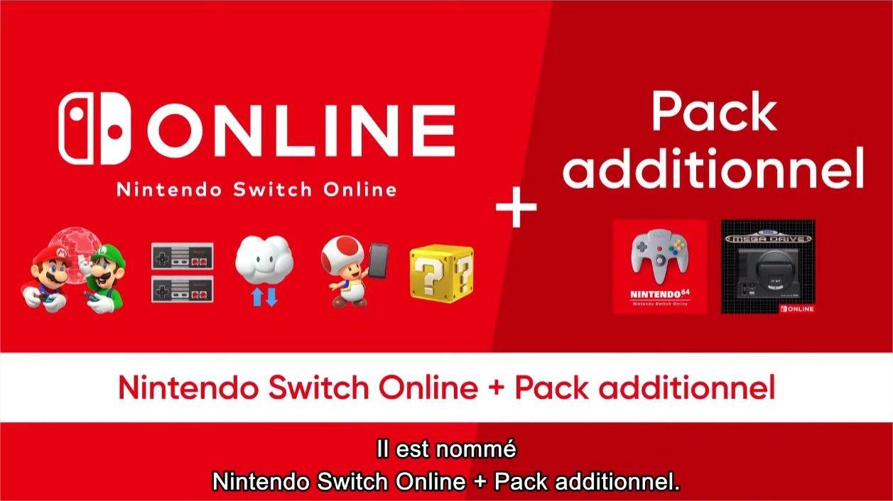 Nintendo Online pack additionnel