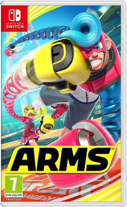 Nintendo Switch ARMS.