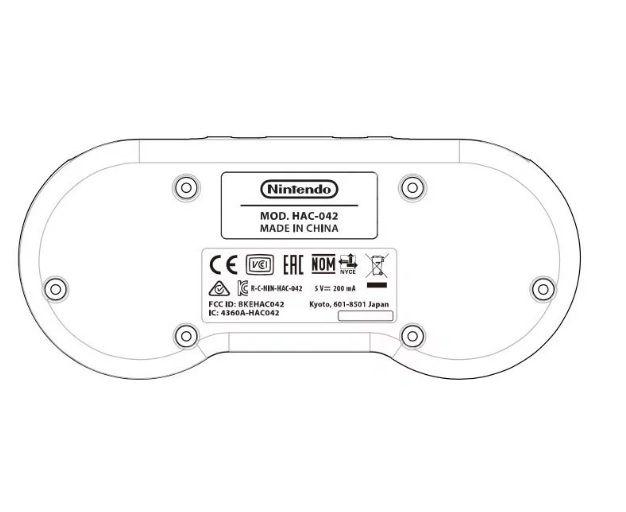 Nintendo Switch SNES manette