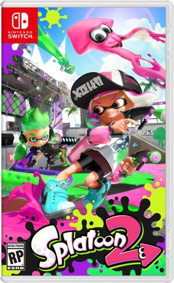 Nintendo Switch Splatoon 2.
