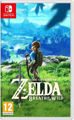 Nintendo Switch Zelda Breath of the Wild.