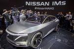 Nissan IMs : le concept de berline électrique autonome au salon de l'Auto de Detroit