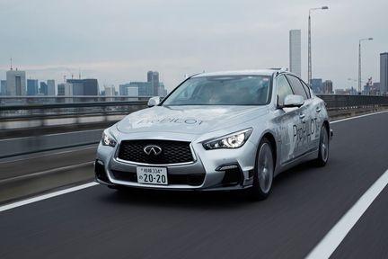 Nissan Q50 autonome