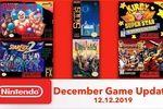 Nitnendo Switch jeux rétro decembre