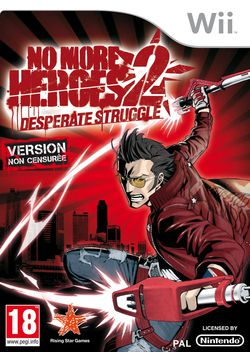 No More Heroes 2 Desperate Struggle - jaquette