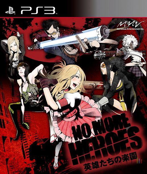 No More Heroes : Heroes Paradise - pochette