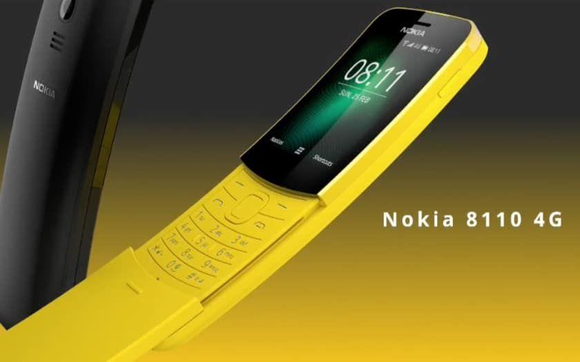 Nokia 8110 4G : un