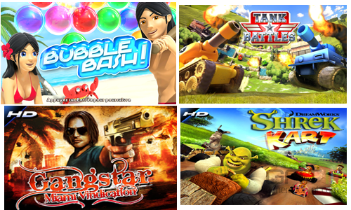 Nouveautés Gameloft Freebox