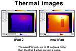 nouvel iPad chaleur Consumer Reports