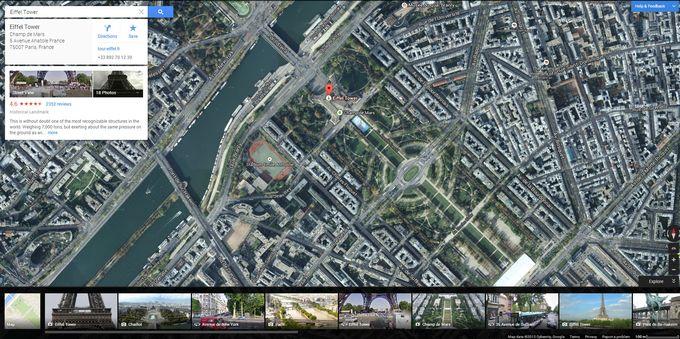 nouvelle version Google Maps
