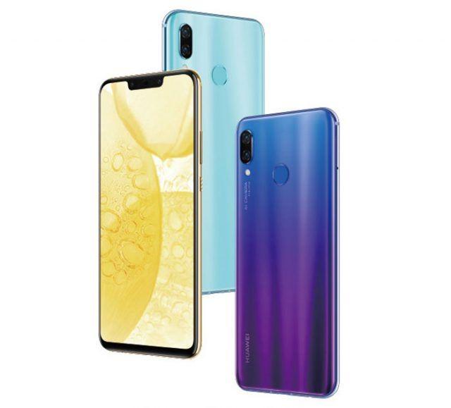 Les Smartphones Huawei Nova 3 Et Nova 3i En Precommande A Partir