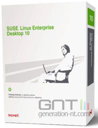 Novell suse linux enterprise desktop sled 10 box