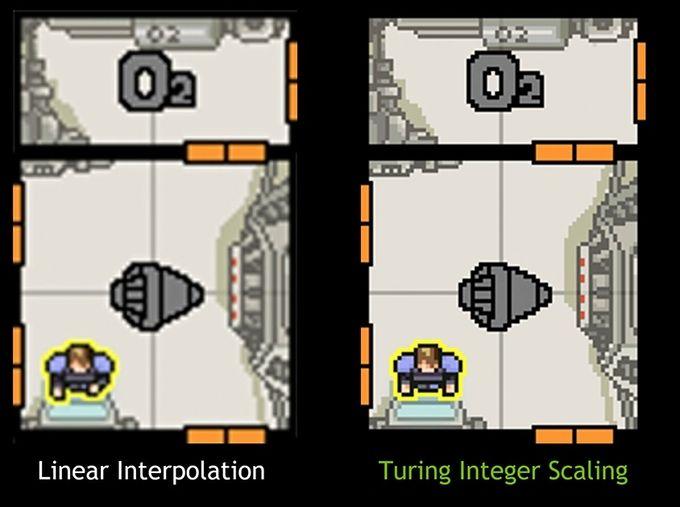 Nvidia Turing GPU Integer Scaling