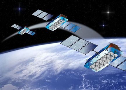o3b constellation satellite