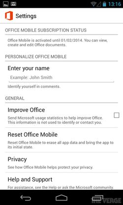 Office Mobile Android 02