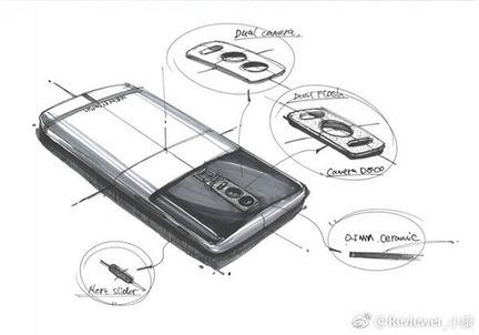OnePlus 5 croquis photo